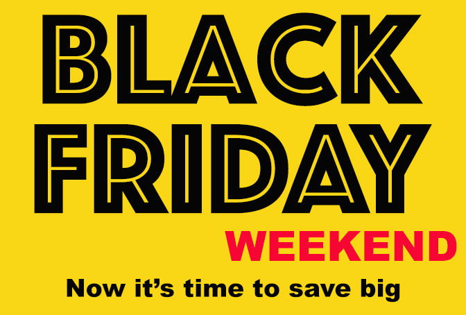 Black Friday weekend offers Shop America 2020.