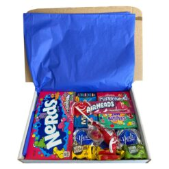 American Candy Box with American favorites - 13 pieces - Small.