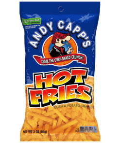 Andy Capp's Hot Fries 85g.