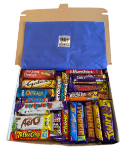 British Chocolate Bundle with 28 different kinds of English chocolate.