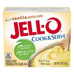 Jell-O Cook and Serve Vanilla 85g.