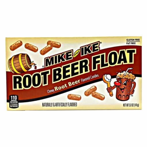 Mike and Ike Root Beer 141g.