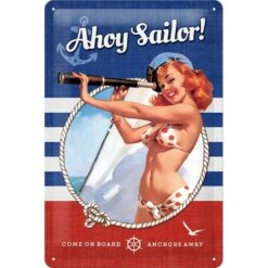 NA22230-tin-sign-20x30-pin-up-ahoy-sailor.jpg