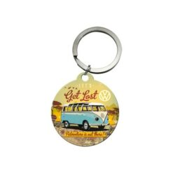 Nostalgic Art Keychain VW adventure