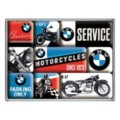 Nostalgic Art Magnet set BMW Motorcycles (9x)