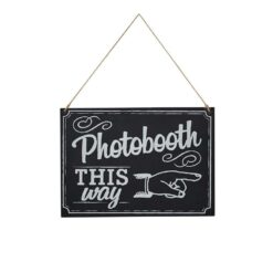 Ginger Ray Photo Booth Sign Chalkboard