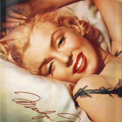 metalen-bord-marilyn-monroe-bed-22107.png