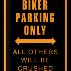 tin-sign-biker-parking-only-20381.png