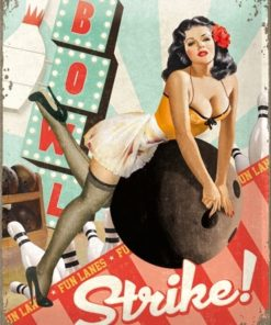 Nostalgic Art Tin Sign Strike! 30x40