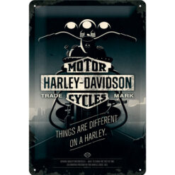 Nostalgic Art Tin Sign Harley Davidson Things Are Different 20x30