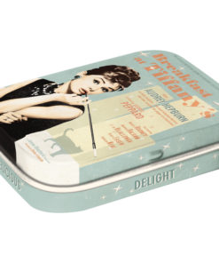 Nostalgic Art Mint Box Breakfast at Tiffanys Blue