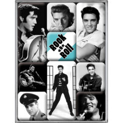 Nostalgic Art Magnet set Elvis (9x)
