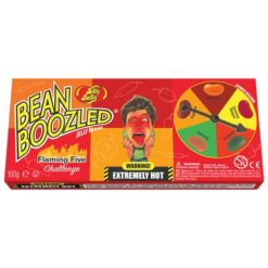 Jelly Belly Bean Boozled Flaming Five Game 100 gram.
