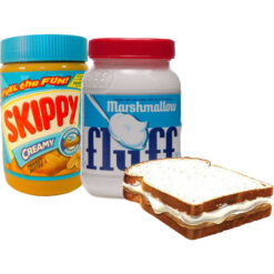Fluffernutter bundle with 2 Fluff and 2 Skippy