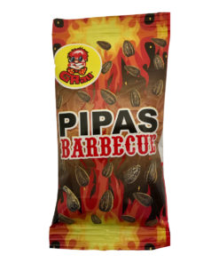 Graunuts Pipas Barbecue Sunflower seeds 45 gram.