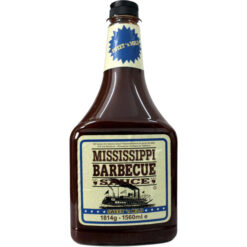 Mississippi BBQ Sauce Sweet n Mild XXL bottle