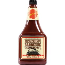 Mississippi BBQ Sauce Sweet n Spicy XXL bottle