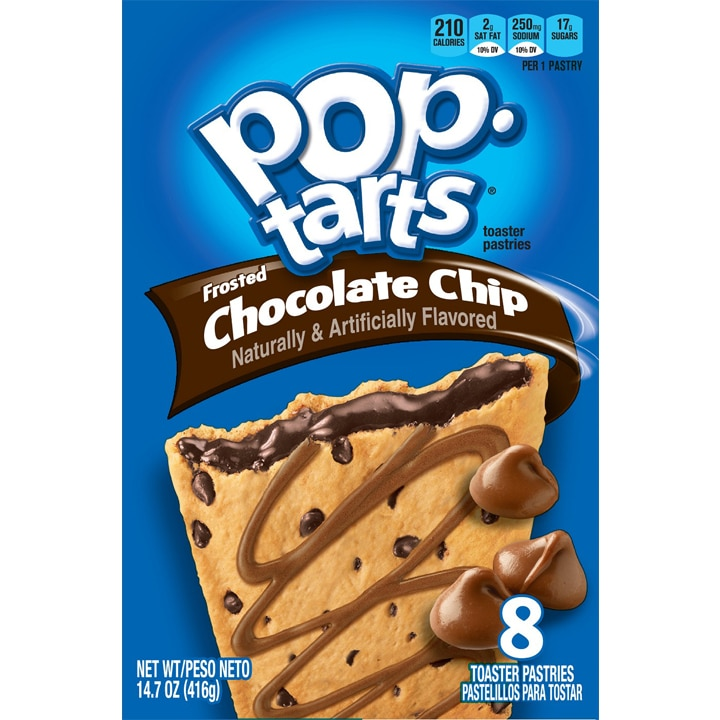 Kelloggs Pop Tarts Chocolate Chip - Shop America EU