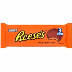 Reeses 3 Peanut Butter Cups Milk Chocolate