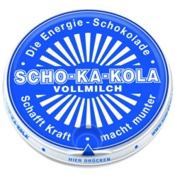 Scho-KA-Kola Cafeine Milk Chocolate