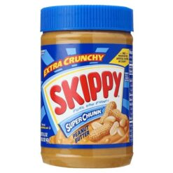 Skippy Super Chunk Peanut Butter Large 462 grams