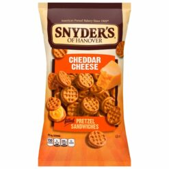 Snyder's of Hanover Cheddar Cheese Sandwich pieces.