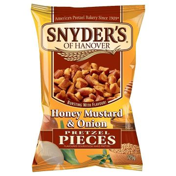 Snyders of Hanover Honey Mustard and Onion 125 grams
