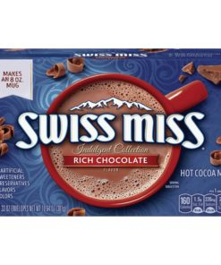 Swiss Miss Rich Chocolate Indulgent Collection.