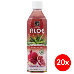 Tropical Aloe Vera Pomegranate 500ml Box 20x
