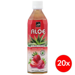 Tropical Aloe Vera Strawberry 500ml Box 20x