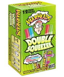 Warheads Double Squeeze sour ice cream pops to freeze at home.