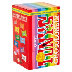 Tony's Chocolonely 100 Tiny's in 10 flavours 900g.