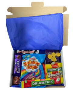English Candy Box with English favorites - 11 items - Small.